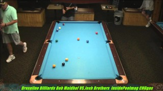Bob Maidhof VS  Josh Brothers Semi Finals  Drexeline Billiards 2013