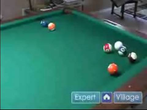How To Play 8 Ball Pool: Billiard Tips & Techniques : How To Make A Safety Shot in Pool