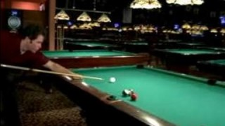 How to Play Pool : How to Make a Kick Rail Shot in Pool