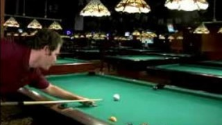 How to Play Pool : How to Make a Straight Cut Shot in Pool