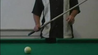 How to Play Pool : Where to Hit a Cue Ball in Pool