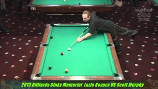 Lazio Kovacs v Scott Murphy at the 2013 Ginky Memorial 1