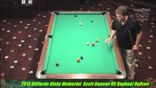 Raphael DeBree v Scott Bannon at the 2013 Ginky Memorial