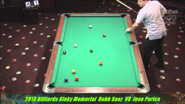 Robb Saez VS Jose Parica 2013 Ginky Memorial