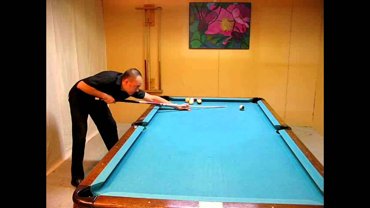 POWERFUL POOL DISC 3 SAMPLE: HOW TO DRAW THE CUE BALL BACK IN YOUR POOL GAME