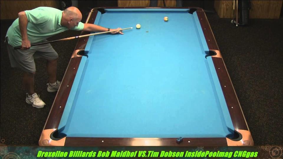Bob Maidhof VS  Tim Dobson 2013 Drexeline Billiards