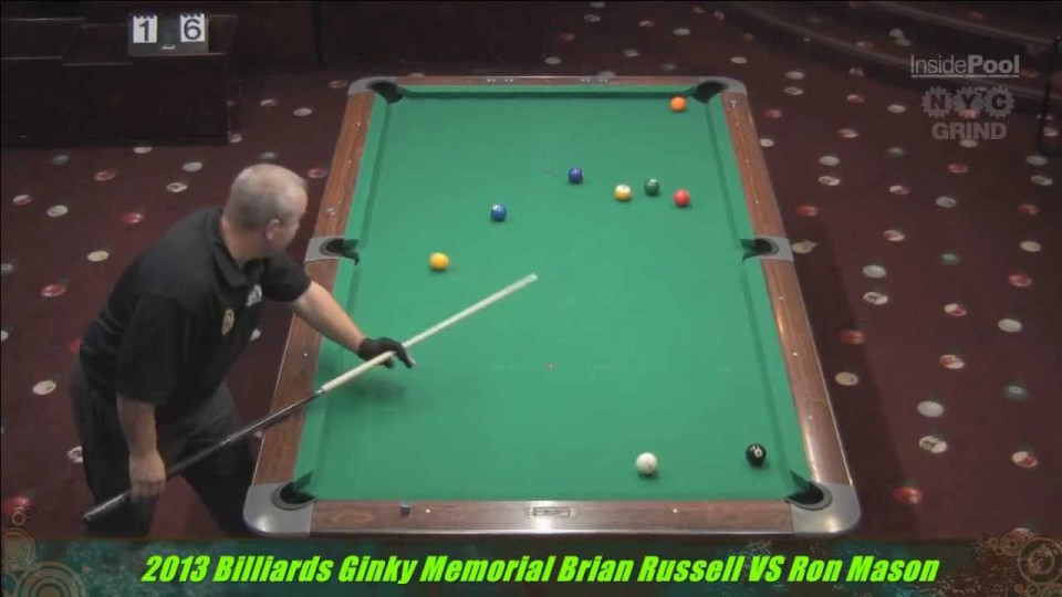 Brian Russel v Ron Mason at the 2013 Ginky Memorial