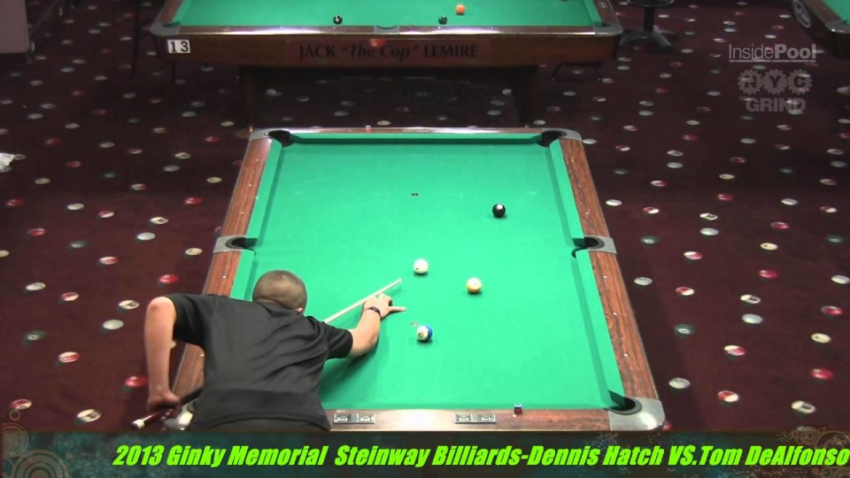 Dennis Hatch  VS  Tom DeAlfonso 2013 Ginky Memorial 10 Ball