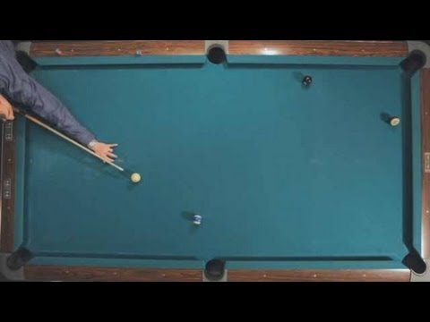 How to Control the Speed of the Cue Ball   Pool Trick Shots