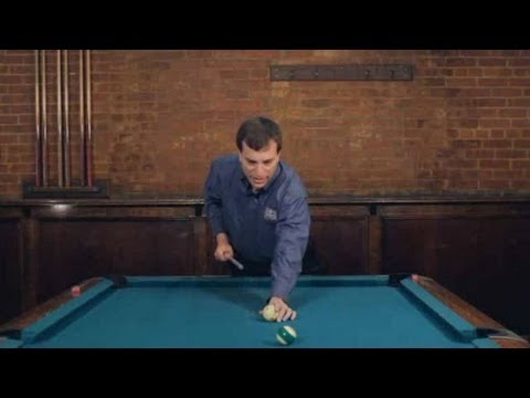 How to Make a Draw Shot | Pool Trick Shots