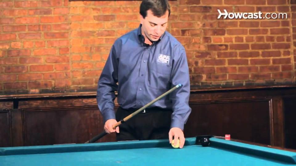"How to Make the ""Golf Ball Bank"" Shot | Pool Trick Shots"