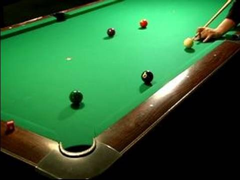 How to Play 8-Ball : Shooting the 8-Ball in Billiards