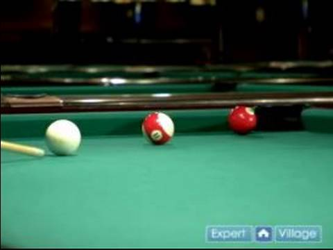 How to Play Pool : How to Make a Jump Shot in Pool