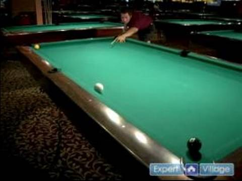 How to Play Pool : How to Make Trick Pool Shots