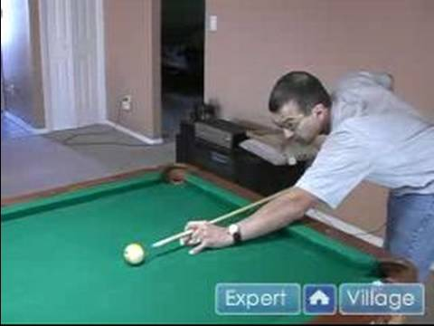 How to Play Pool : Tips for Hitting a Cue Ball in Pool: Online Billiards Lessons for Beginners