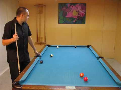 Pool Billiards Lesson with Pro Pool Player Max Eberle