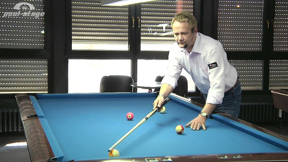 Pool Lessons  – Reference-Line No. 3, Ralph Eckert, Pool Billard Training Lessons