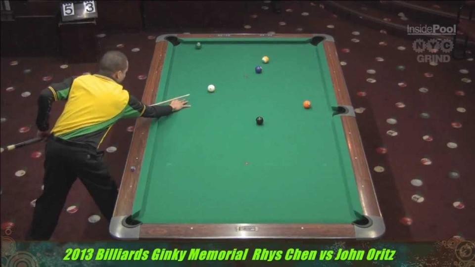 Rhys Chen v John Ortiz at the 2013 Ginky Memorial