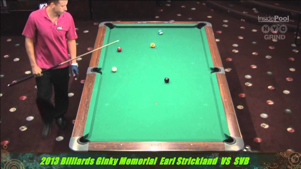 Shane Van Boening VS Earl Strickland 2nd Round Match 2013 Ginky Memorial