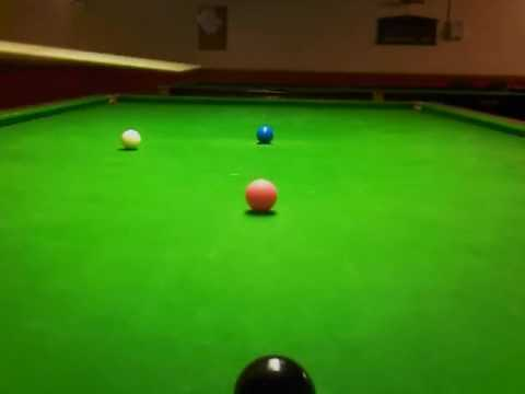snooker tips #  blue played with check side & screw
