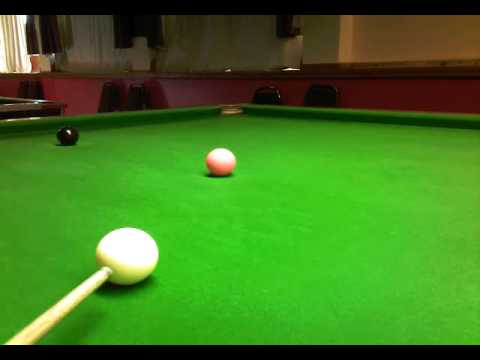 snooker tips #  how to pot a pink with checkside