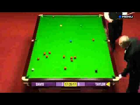 Steve Davis vs Dennis Taylor – The Rematch 2/5