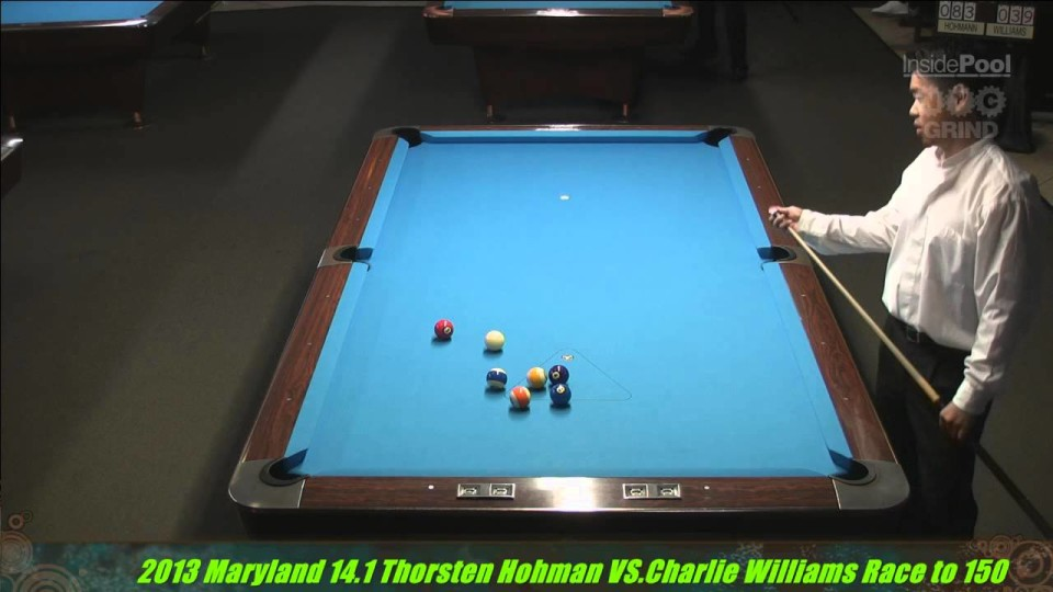 Thorsten Hohmann VS Charlie Williams 2013 Maryland 14.1