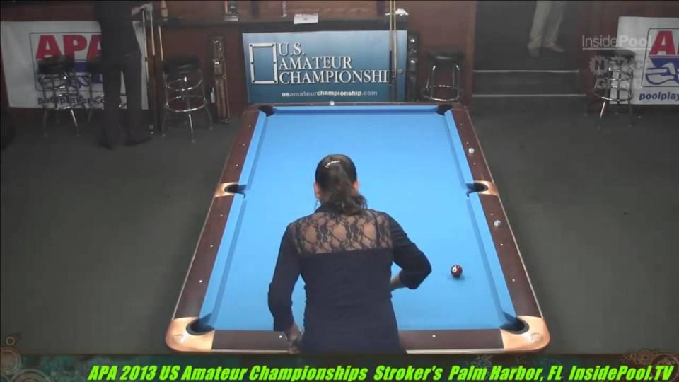 2013 APA US Amateur Championship 15 Kim Houseman VS  Valerie Dukich