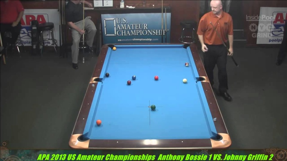 2013 APA US Amateur Championship Anthony Bossie VS Johnny Griffin