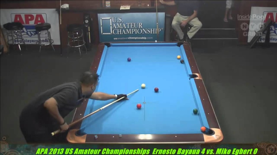 2013 APA US Amateur Championship Ernesto Bayayu VS  Mike Egbert