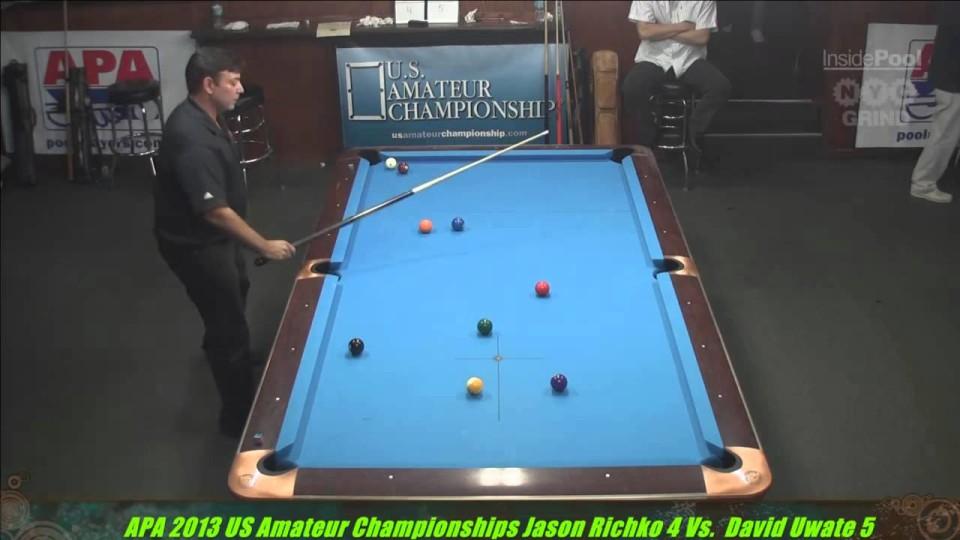 2013 APA US Amateur Championship Jason Richco VS  David Uwate