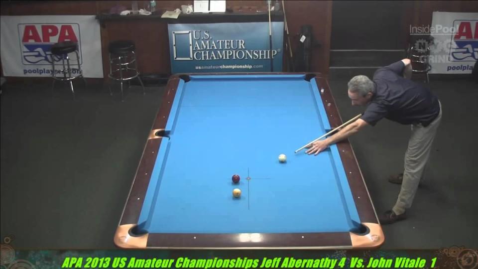 2013 APA US Amateur Championship Jeff Abernathy VS  John Vitale
