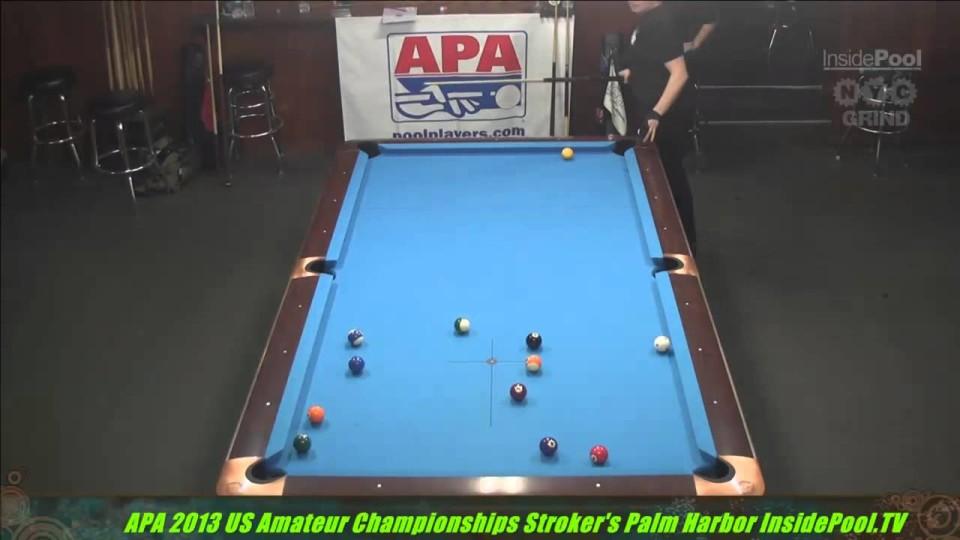 2013 APA US Amateur Championship Suzanne Smith VS Marianne Merill