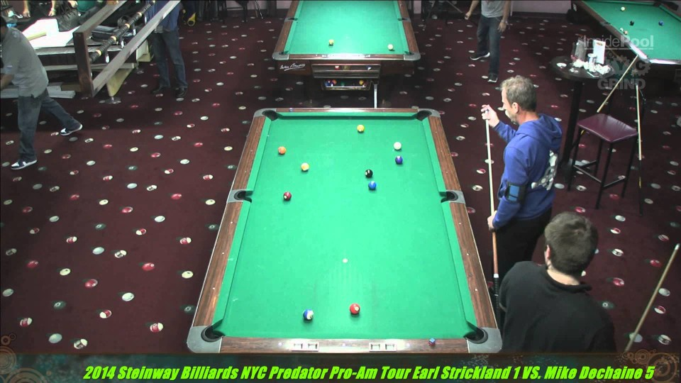 Earl Strickland VS  Mike Dechaine Predator Pro Am Tour at Steinway Poolhall