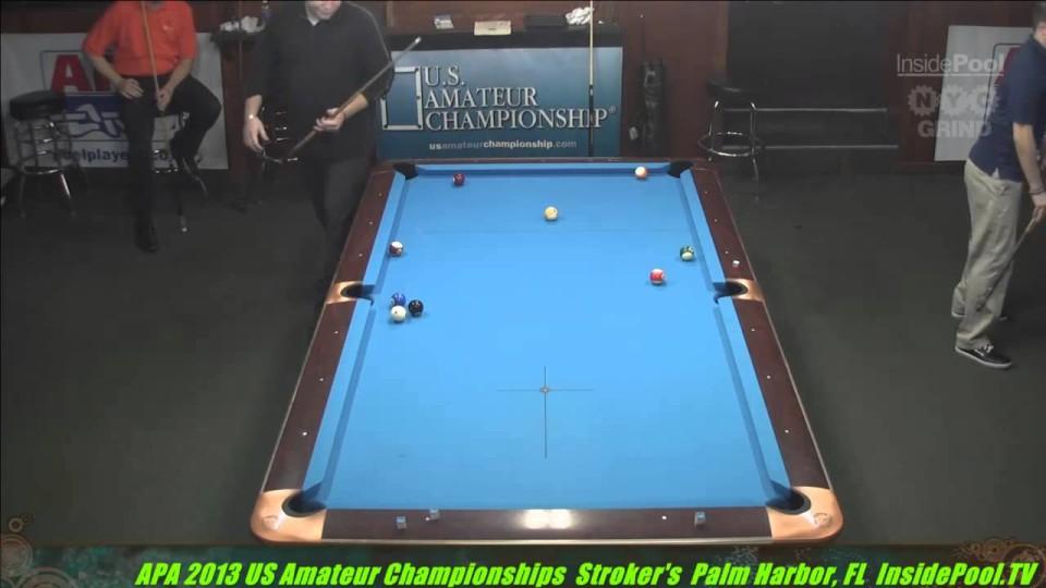 2013 US Amateur Champs APA  Stuart Warnock VS  Curtis Cardwell