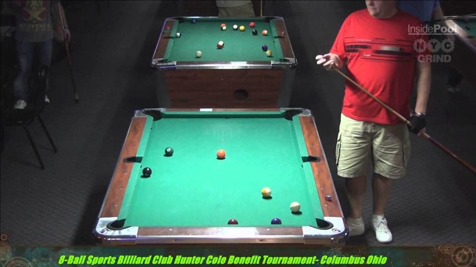 Dee Adkins Vs Ed Hancock at the Hunter Cole benefit Tournament