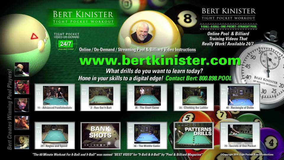 Bert Kinister 2014 Video