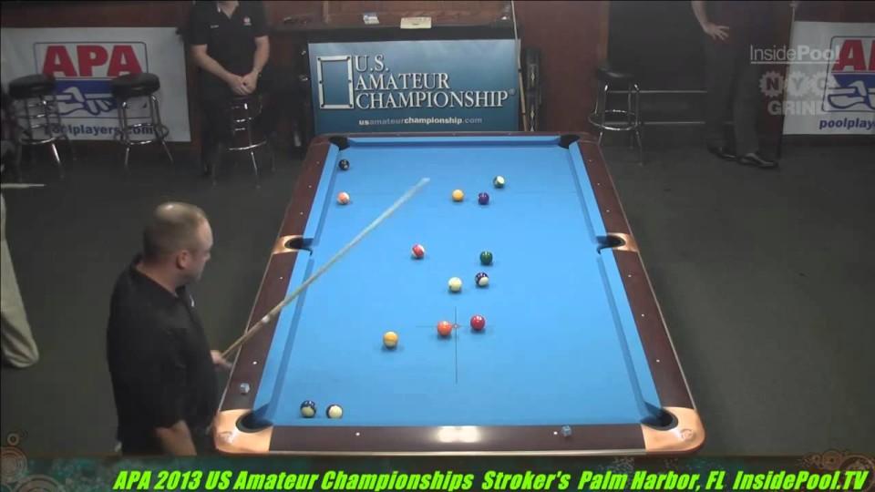 2013 APA US Amateur Championship George Stimaker VS Brian Parks