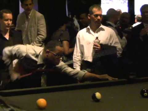 Justin Tuck Billiarids Charity Event/Rush For Literacy – NYC Grind Mash Up Series