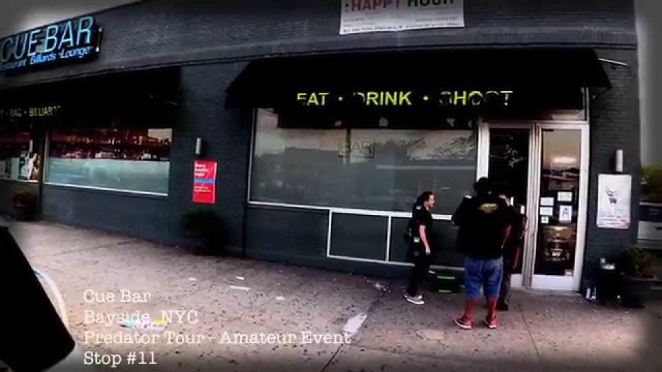 Predator Tour @ Cue Bar – Bayside NY – NYC Grind Spotlight Series