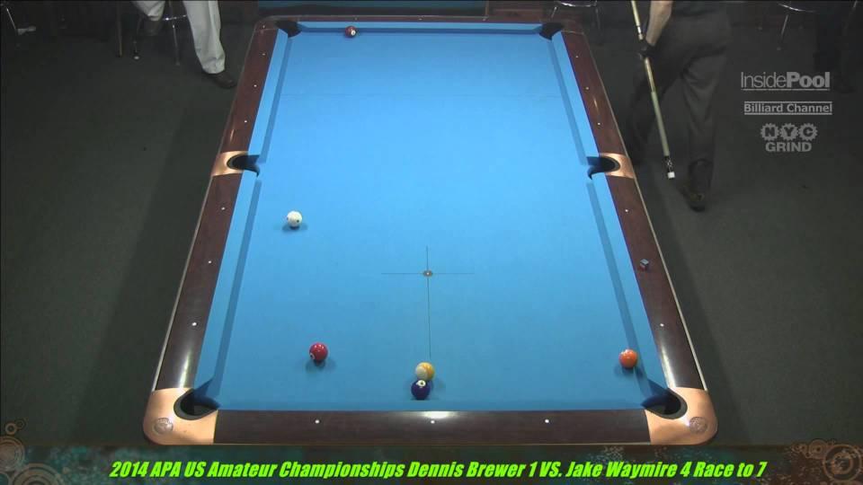 2014 APA US Amateur Champion Dennis Brewer VS  Jake Waymire