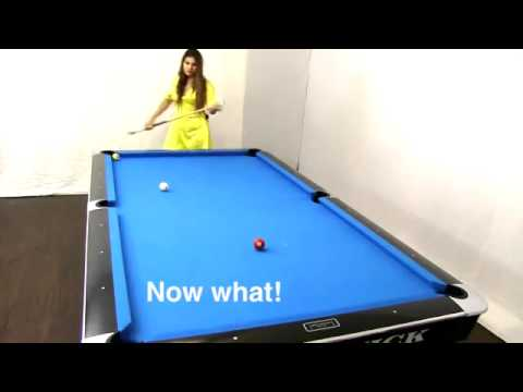 9 Ball Fun with Mary Avina using The Golden Knight Cue by Meucci