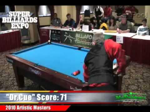 Tom Rossman vs Nick Nickolaidis at the Artistic Pool Masters