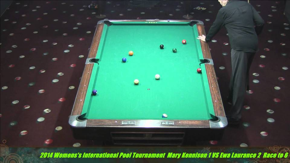 DragonPromotions.com Women's International Pool Championships Ewa Lawrence VS  Mary Kennison