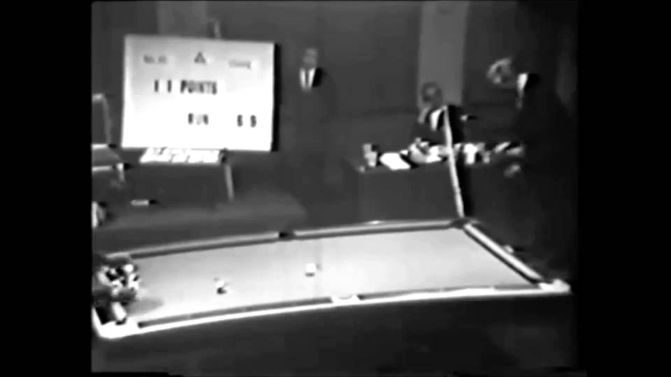 1966 U.S. Open Straight Pool Championship – Irving Crane vs Joe Balsis