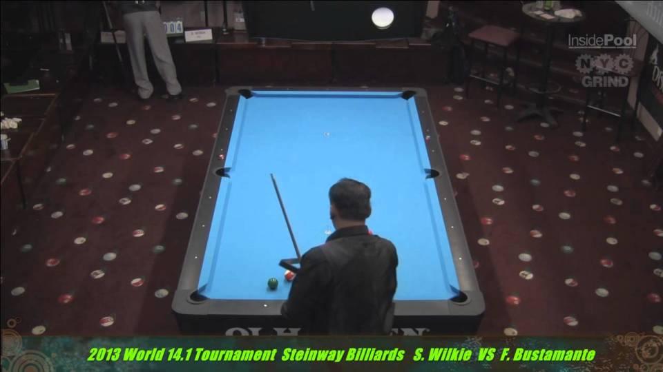 2013 World 14.1 Fransisco Bustamante VS  Shaun Wilkie