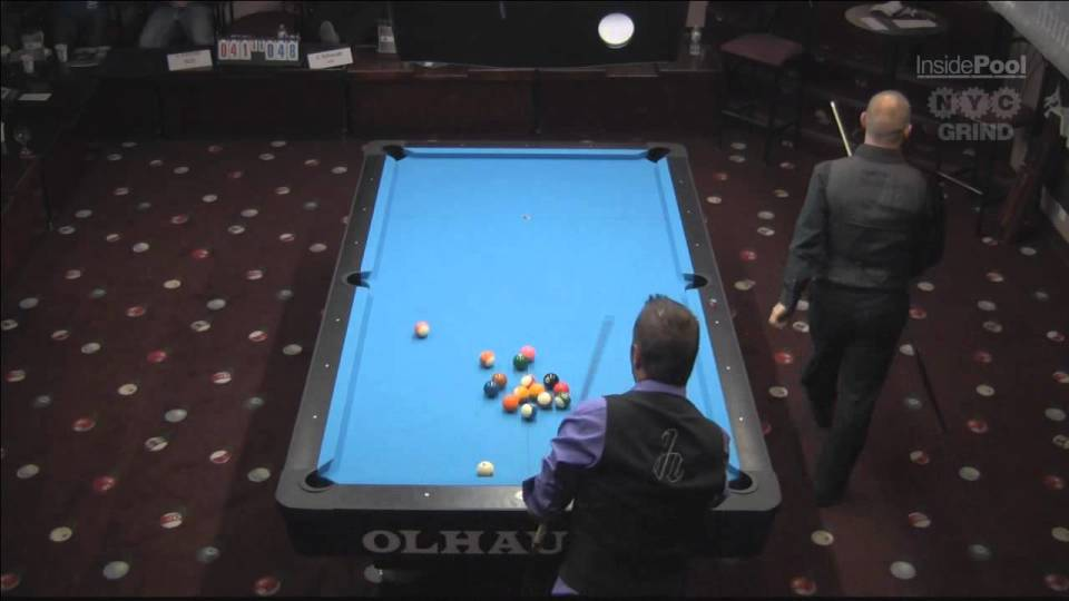 John Schmidt VS  Johnny Fulcher 2013 World 14.1