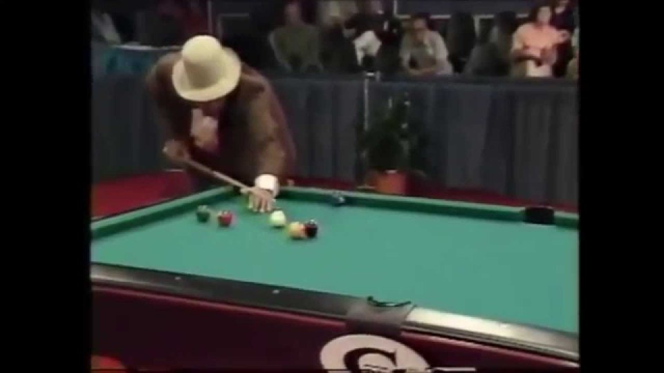 U J Puckett vs Cowboy Jimmy Moore Legends of Pocket Billiards