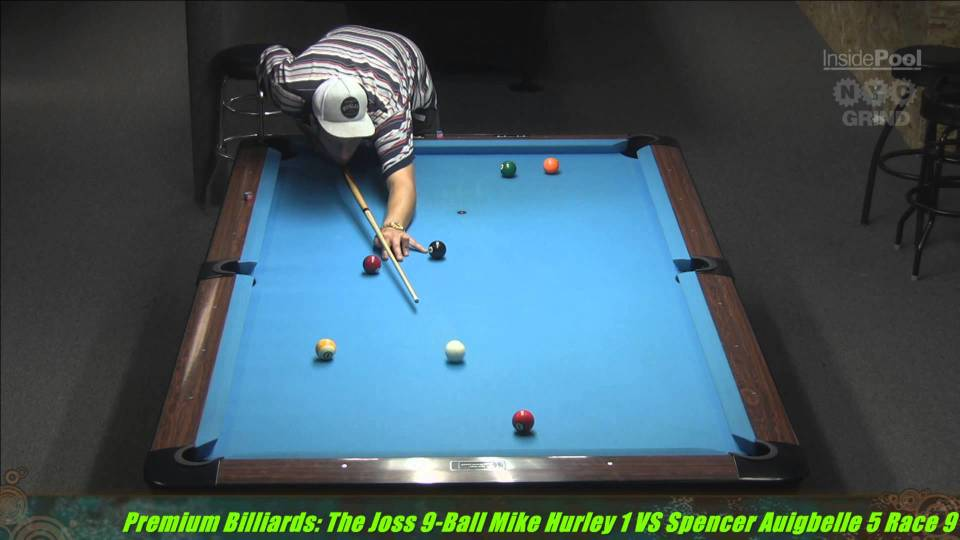 2014 Joss Tour Mike Hurley VS Spencer Augibelle at Premium Billiards, NY