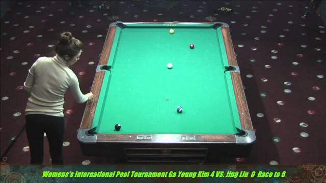 2014 Women's International 10 Ball Jing Lu vs. Ga Young Kim
